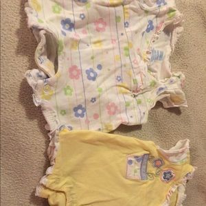 Other - Set of two preemie short outfits